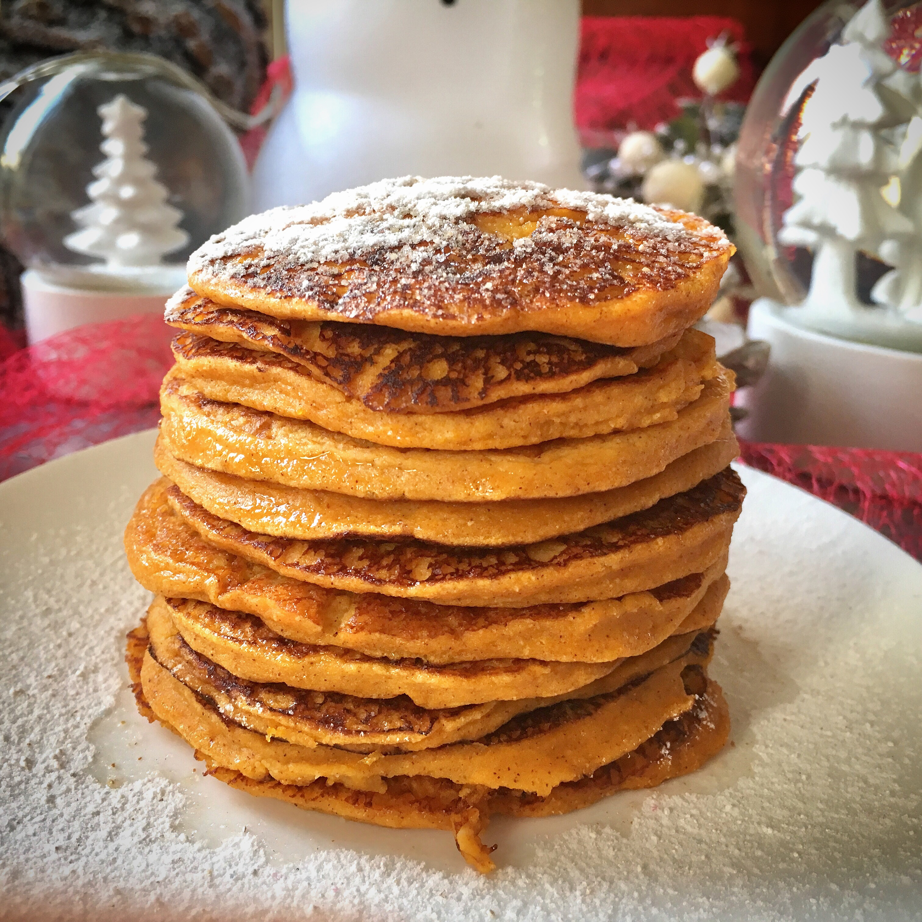 low calorie low carb pompoen pannenkoeken